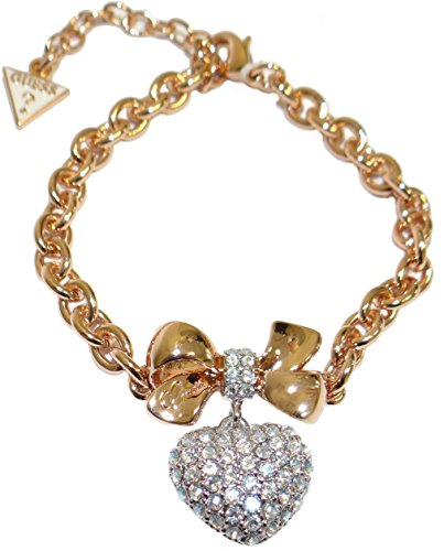Guess Rhodium Gold Plated Bracelet UBB21575-S - Guess Gold Plated Bracelet