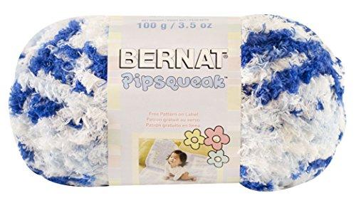Bernat Pipsqueak Yarn 5 Bulky Gauge  - 3.5oz  -  Blue Jean Swirl  - Baby Soft Yarn Machine Wash & Dry (Swirl Chunky Yarn)