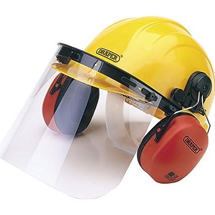 Elite elección Draper xs17 – 69933 seguridad casco con protectores auditivos y visera (1)