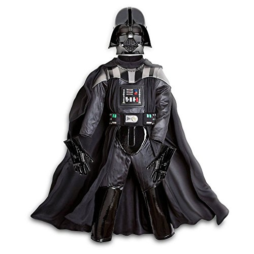 Disney Store Star Wars The Force Awakens Darth Vader Costume Size 7/8 -