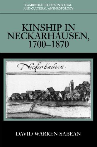 Download Kinship in Neckarhausen, 1700-1870 ebook