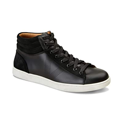 Vionic Men's Mott Malcom Casual Hi-Top Lace-up Sneaker with Concealed Orthotic Support   Fashion Sneakers
