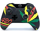 """420"" Xbox One Rapid Fire Custom Modded Controller 40 Mods for All Major Shooter Games, Auto Aim, Quick Scope, Auto Run, Sniper Breath, Jump Shot, Active Reload & More (3.5 mm jack)"