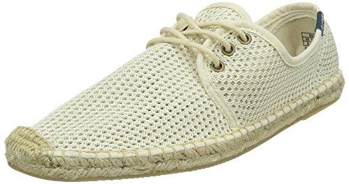 Soludos Men's Derby Lace up Sandal, Natural, 9.5 D US