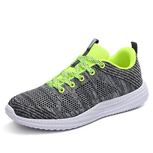 Running Sport De Sports Entraneurs Hommes Gris Gym Lger Chaussures Brkvalit Fitness Femmes Marche Vert wv0TqtnI