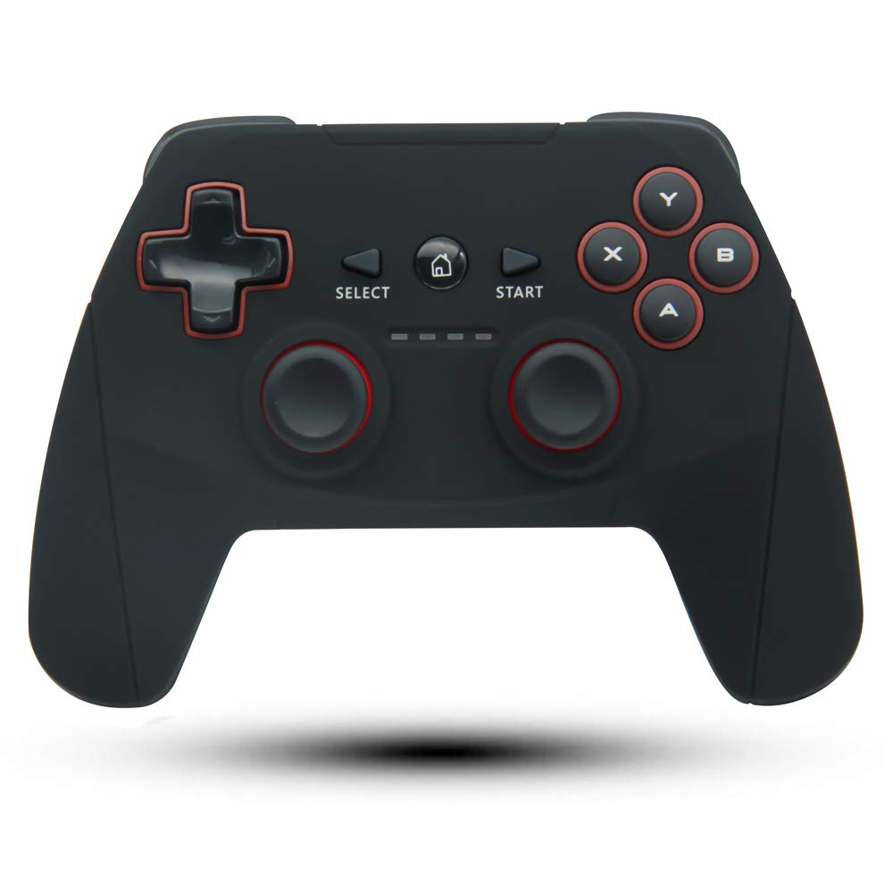 Maegoo Wireless Controller for PC & PS3, 2.4GHz Wireless Game Controller Remote Gamepad Rechargable Joystick with Vibration Shock for Sony Playstation 3 and Windows PC XP/ 7/ 8/ 8.1/ 10
