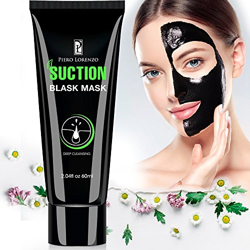 Blackhead Remover Mask, Activated Charcoal Face Mask Peel Off Mask Deep Cleansing Facial Mask 60g (Black)