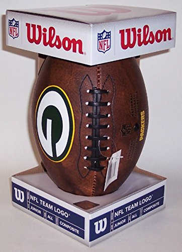 green-bay-packers-junior-wilson-throwback-football-11-inch-brown