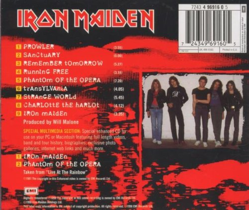 Iron Maiden (enhanced) (eng) by Emi Europe Generic