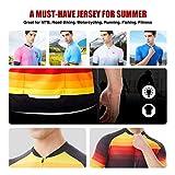 Hikenture Cycling Jersey Mens Short Sleeve Bike