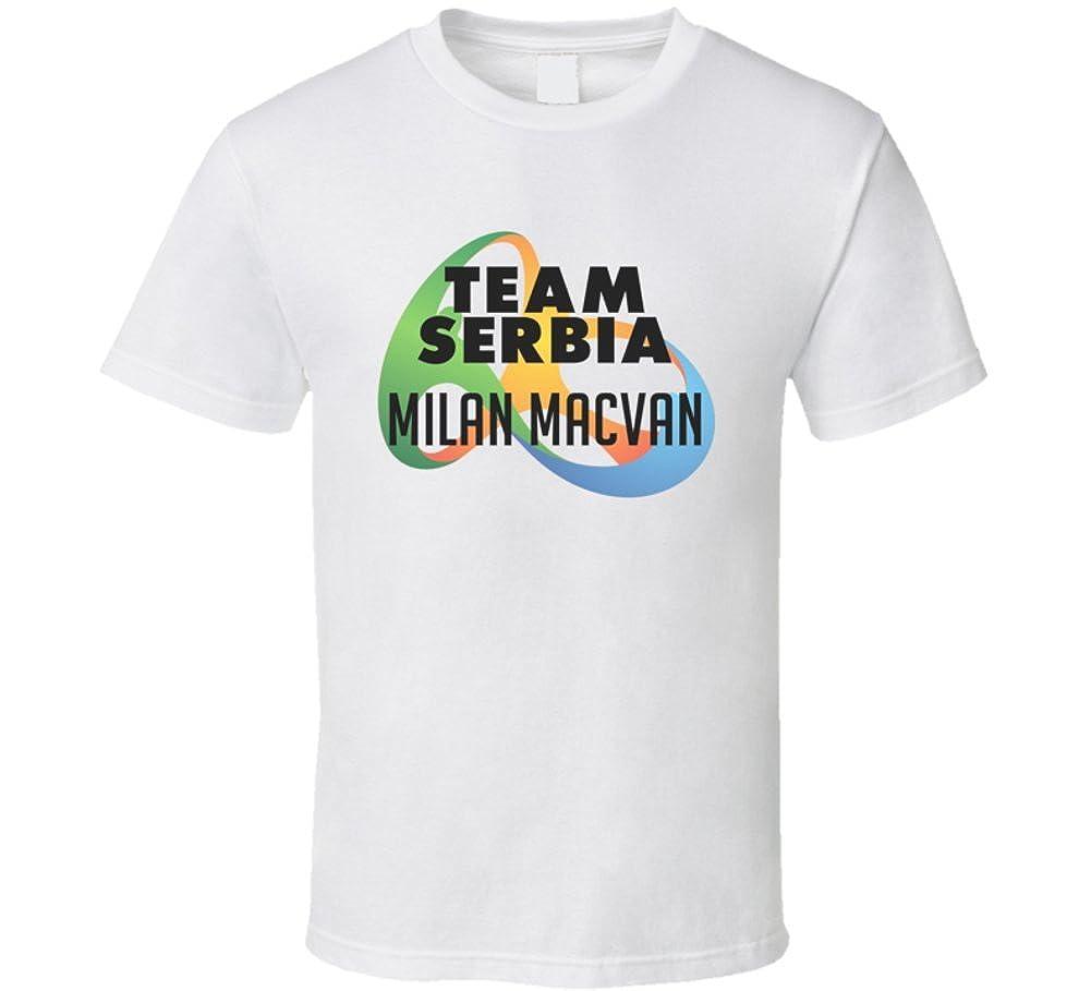 Olímpicos de 2016 símbolo Milan macvan Serbia Río de baloncesto ...