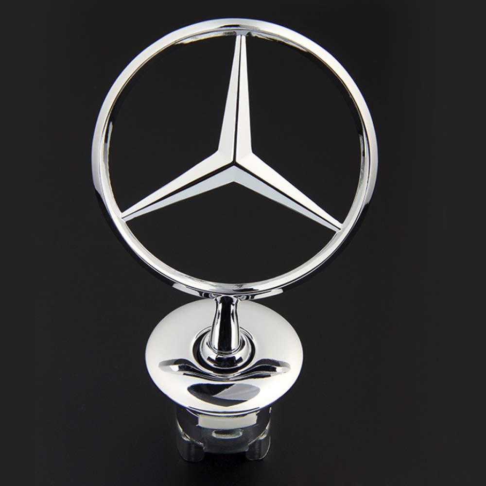 Recambio de Estrella Delantera Emblema Estrella A2108800186 para W211 W212 Clase E W221 Clase S W204 Clase C AMG