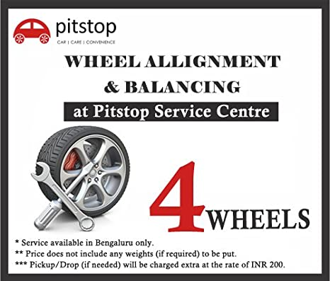 Car Alignment Price >> Pitstop Wheel Alignment And Balancing Service For All Cars