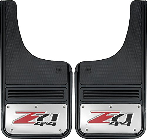 - Gatorback Chevy Silverado Z71 Truck Mud Flaps - Front or Rear Pair