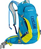 CamelBak M.U.L.E. LR Crux Lumbar Reservoir Hydration Pack, Atomic Blue/Sulfur Springs, 3 L/100 oz