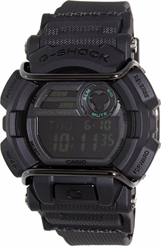Casio G Shock GD400MB 1 Black Quartz