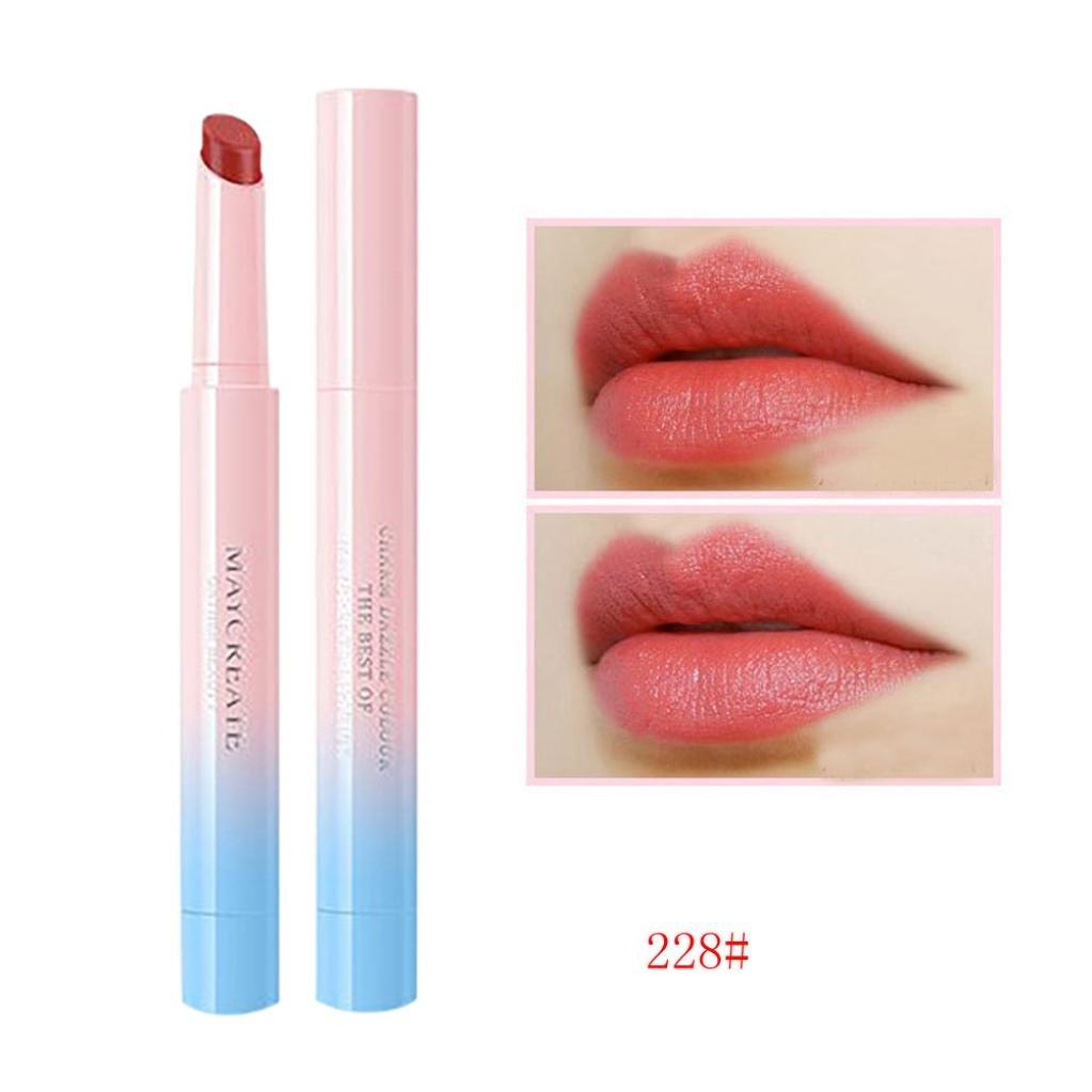 Lipstick, Alonea Ladies Makeup Waterproof Hydrating Long Lasting Lip Gloss Lipstick (228#)