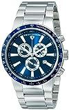 Swiss Legend Men's 10057-33-BLB Endurance Collection Chronograph Stainless Steel Watch