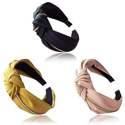 Knot Headband Vintage Hair Hoop Cross Knot Head Band For Women Hair Accessories