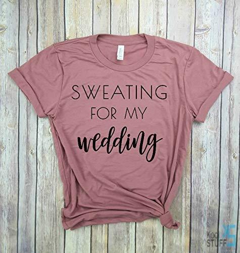 61b22e5d Sweating for the Wedding, Married AF Shirt, Married AF bridal Shirt, Newlywed  Shirt, Honeymoon tshirt, Wifey shirt, wedding gift, bridal gift, funny  wedding ...