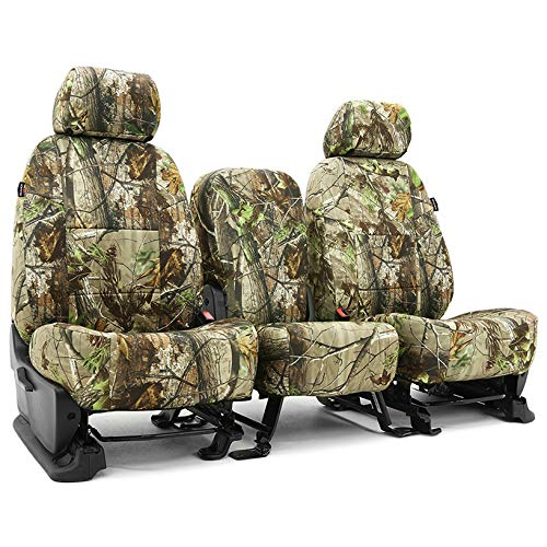 Coverking CSCRT09CH9870 Tailored Seat Covers Neosupreme Camo Realtree APG for 2014-2018 Chevrolet Truck Silverado 1500,2500 (not HD)