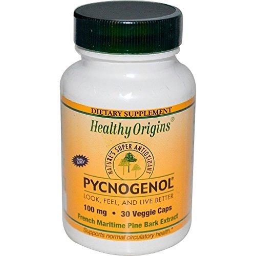 - Healthy Origins Pycnogenol -- 100 mg - 30 Vegetarian Capsules
