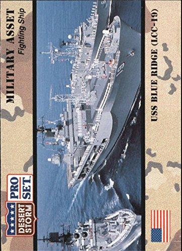 1991 Desert Storm Pro Set #176 USS Blue Ridge (LCC-19) - Shop Ridge Desert