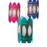 Bargain World Arabian Hanging Lantern Holders (With Sticky Notes)