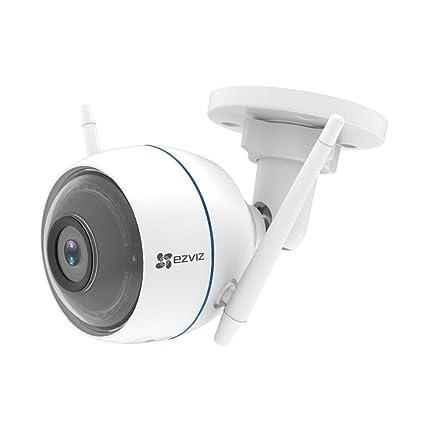 EZVIZ ezTube 720P IP Cámara de Seguridad con Defensa Activa, Luz Estroboscópica y Sirena,