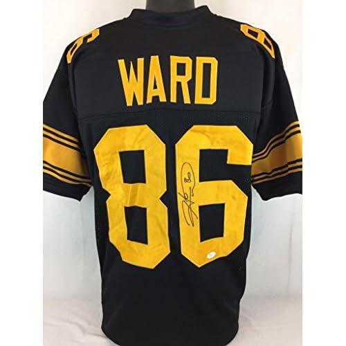 super popular a5f68 52e80 best Hines Ward Signed Jersey - Bl Coa - JSA Certified ...