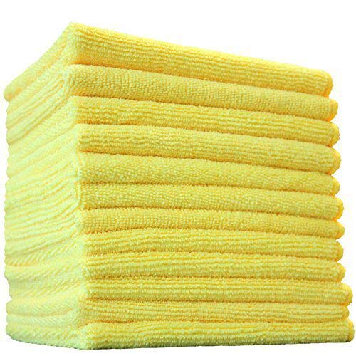 Yellow Microfiber Cloths Costco: Best Cleaning Cloths & Towels 2019