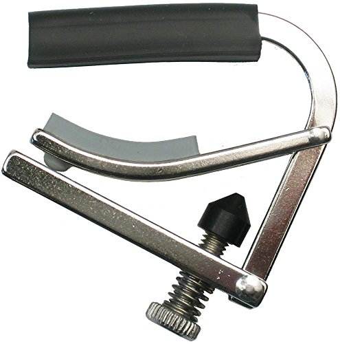 - Shubb C5R Standard Capo for Banjo, Mandolin, or Bouzouki - Radiused - Polished Nickel