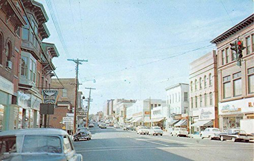 Willimantic Connecticut Main Street Scene Historic Bldgs Vintage Postcard ()