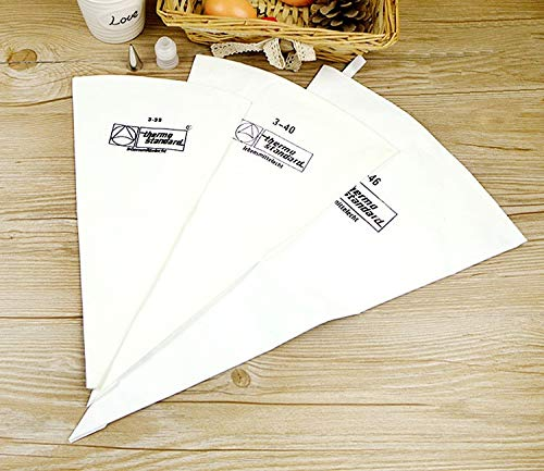 Piping Bags - 35/40/46 Decorating Bag Piping Thickened Cloth Bags Icing Fondant Cake Cream Decorating Pastry Tip DIY Bakeware Cake Tools
