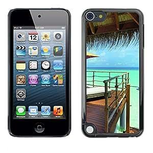 "For Apple iPod Touch 5 , S-type Naturaleza Hermosa Forrest Verde 158"" - Arte & diseño plástico duro Fundas Cover Cubre Hard Case Cover"