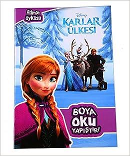 Disney Karlar Ulkesi Boya Oku Yapistir Kolektif 9786050927528