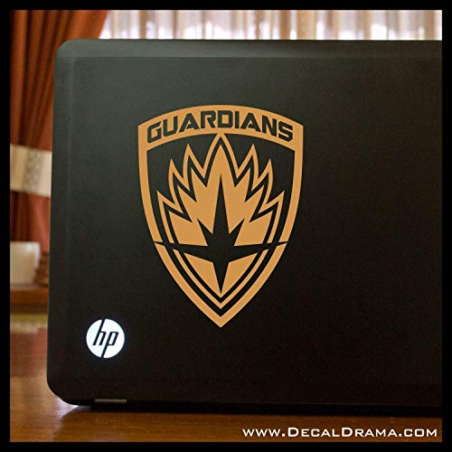 - Guardians of the Galaxy emblem SMALL Vinyl Car/Laptop Decal