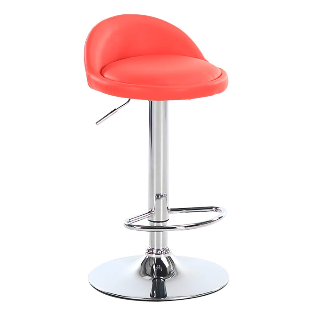 A6 Bar Stool redatable and Height Adjustable - color Choice, PU, seat with backrest PU seat with backrest (color   A10)