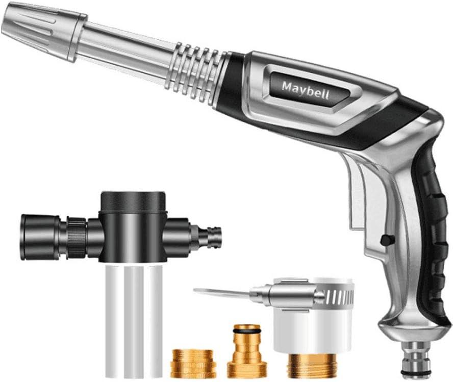 Pistola de agua a presión KKmoon con boquillas intercambiables por sólo 15,99€ usando el #código: 8RFX4C7T
