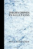 img - for Theory-Driven Evaluations by Huey T. (Tsyh) Chen (1994-05-09) book / textbook / text book