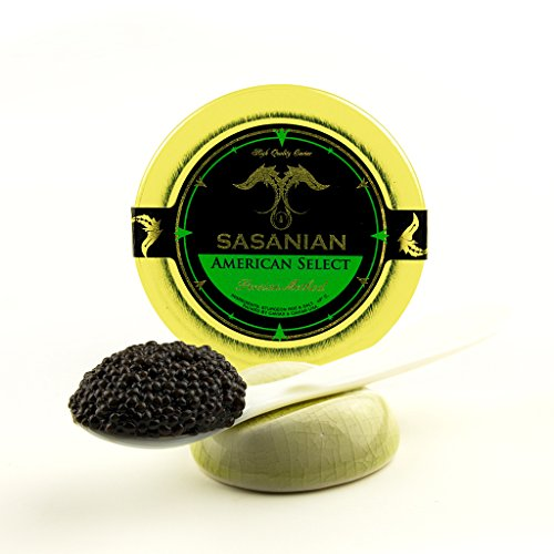 GUARANTEED OVERNIGHT! Wild American Black Bowfin Choupique Roe Caviar 500 gr Tin