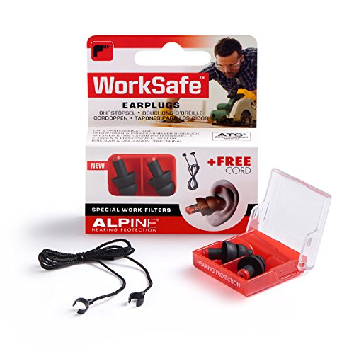 Alpine Work Safe Earplugs - Filter Alpine