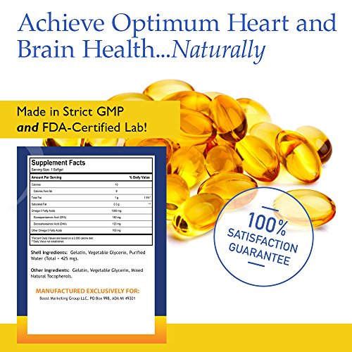 Nutrition essentials omega 3 fish oil supplement best for Fish oil for heart