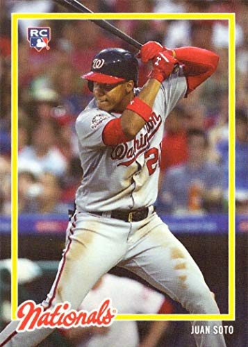 2018 Topps On-Demand Baseball #30 Juan Soto Rookie Card - Only 2,040 made!