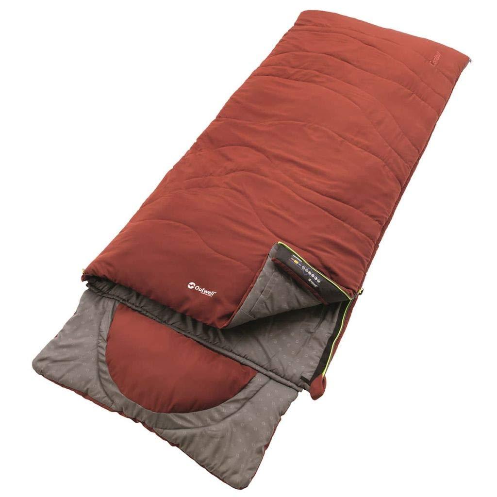 Outwell Contour Saco de Dormir, Color Midnight Black, tamaño 225 x 90 cm, 1.6 230227