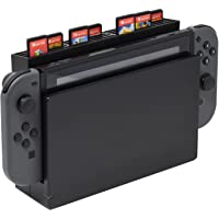 Game Card Storage with 28 Game Card Slots Card Holder Compatible with Nintendo Switch Game Accessories-Black