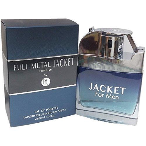 Parfums Full Metal - Full Metal Jacket Jacket Cologne for Men 3.3 Oz /100 Ml Eau De Toilette Spray by Fmj Parfums