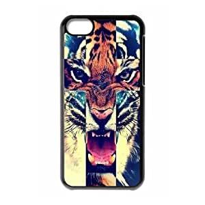 Tiger New Fashion DIY Phone Case for Iphone 5C,customized cover case ygtg539293
