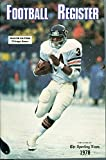 img - for Sporting News Football Register 1978 book / textbook / text book