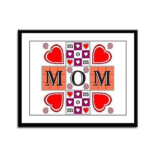 - Framed Panel Print Mother's Day I Love Mom
